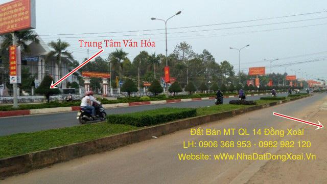 Đất Bán MT QL14 ngay trung tâm Đồng Xoài Bình Phước