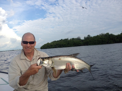 fly fishing for baby tarpon in Cudjoe Key