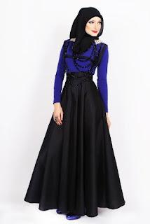 Baju dress muslim untuk pesta