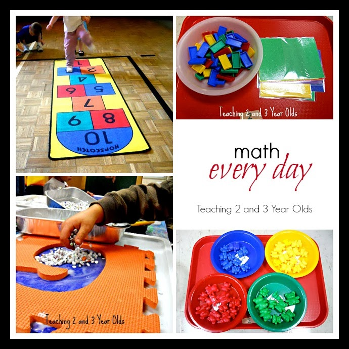 Teaching 2 And 3 Year Olds Everyday Math Play In Preschool