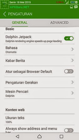 Dolphin Browser full version