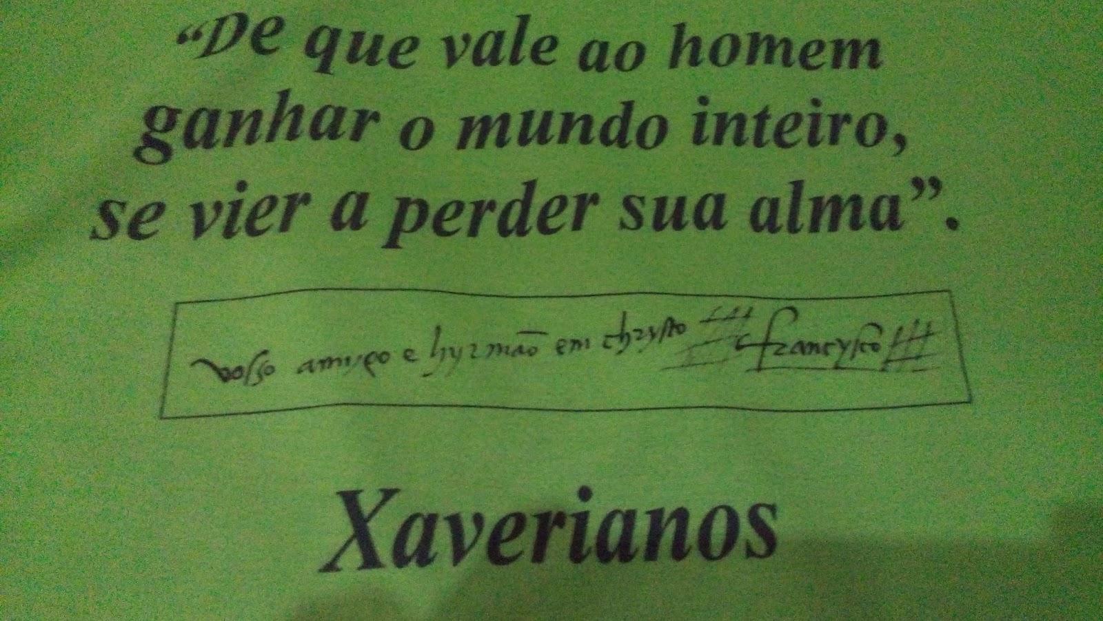 São Francisco Xavier Frases De S F Xavier