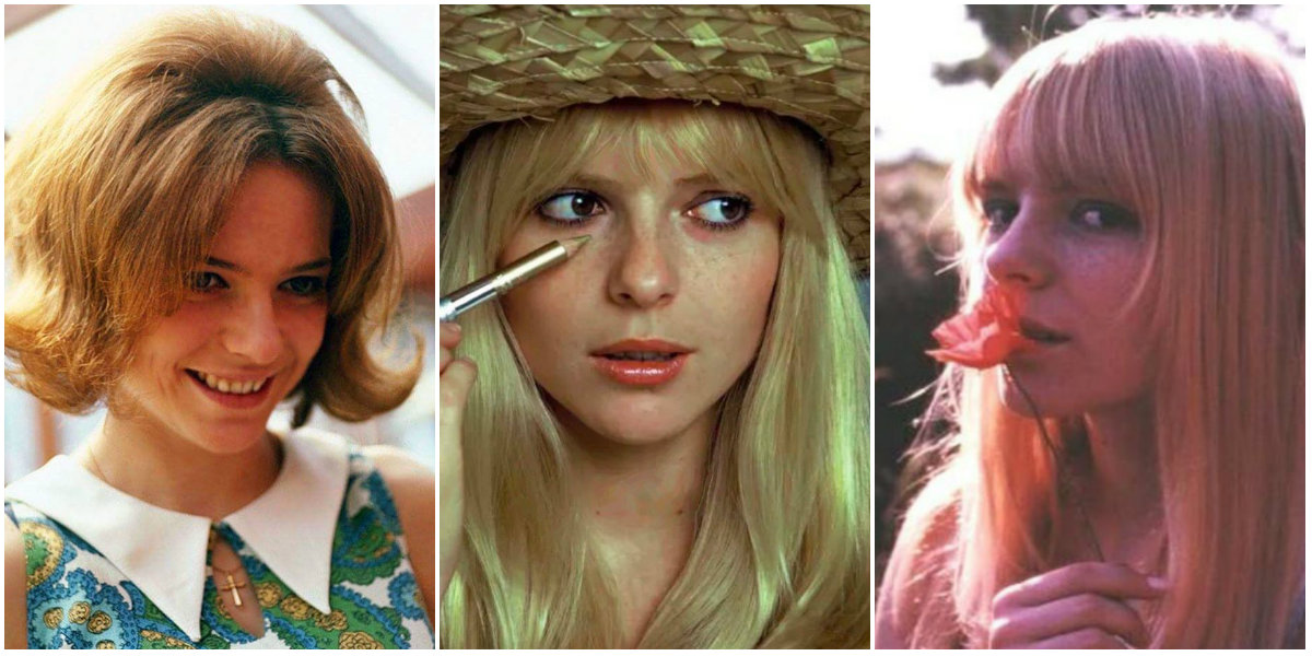 30 Beautiful Photos of a Young France Gall in the 1960s ~ vintage