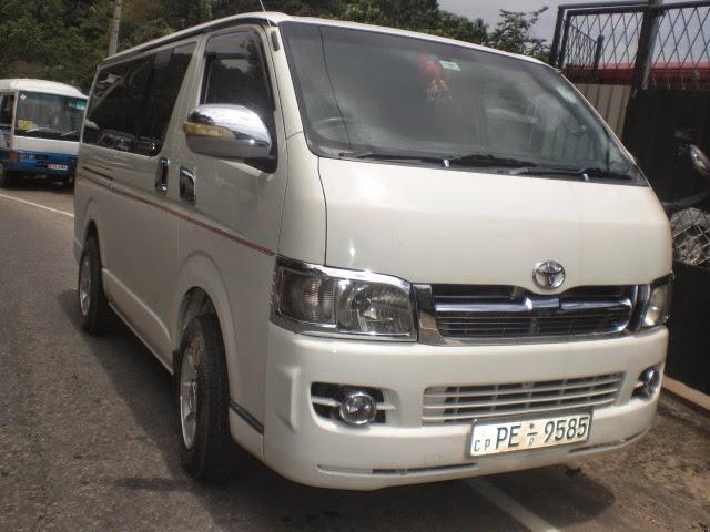 Sunrise Cabs: KDH VAN