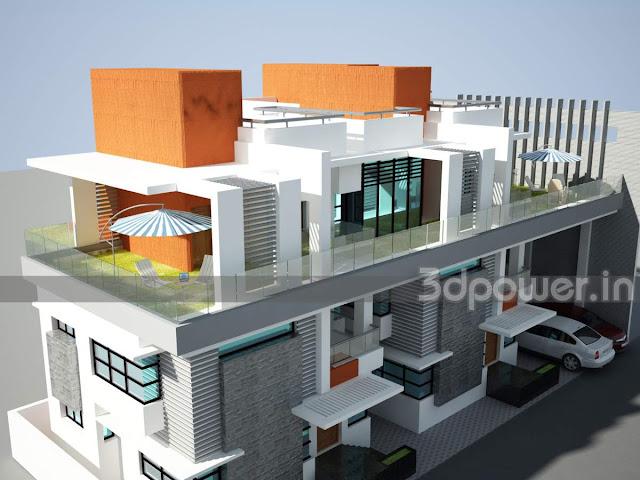 3D Contemporary Home