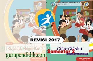 Buku SIswa dan Buku Guru Kelas 4 SD Kurikulum 2013 Revisi 2017 semester 2