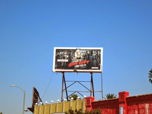 Sin City 2 movie billboard
