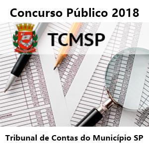 concurso Tribunal de Contas do Município SP