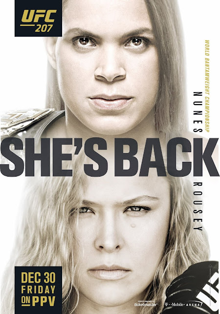 Ronda Rousey comeback UFC 207