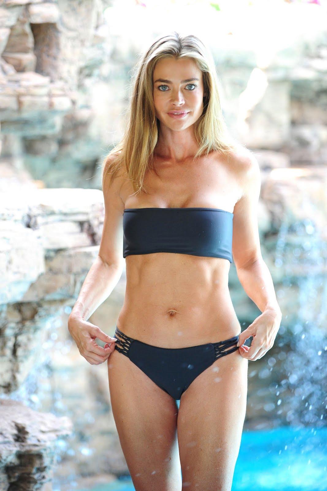 Home Tech Denise Richards Bikini Photoshoot In Malibu