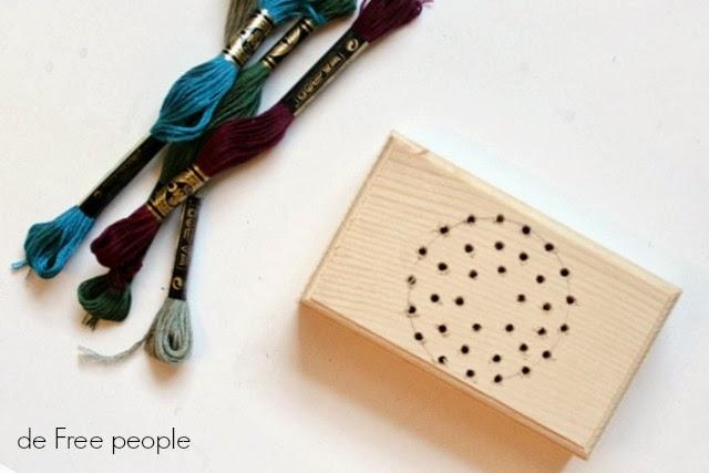 manualidades, coser, bordar, caja, madera, labores, técnicas