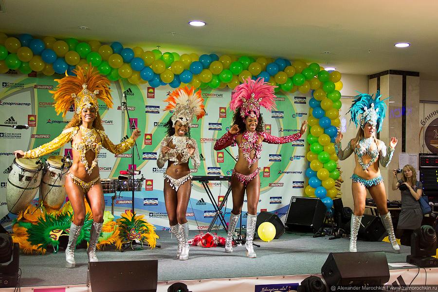 Зажигательные латиноамериканские танцовщицы Terra Brasil Show