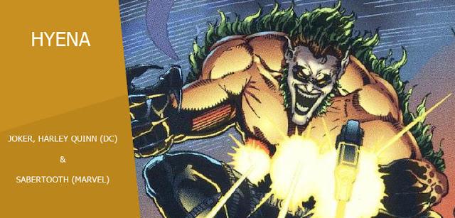 Hyena (Creed Harley Quinn) dalam Amalgam Universe