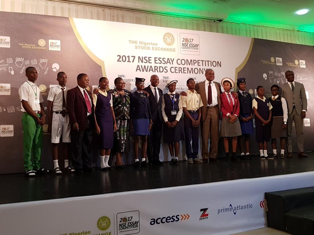 nse essay competition 2011 Stock exchange essay competition 2011the nigerian stock exchange (nse) is pleased to announce the commencement of the 2016 edition of its annual essay competition.