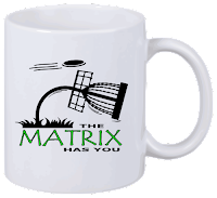 Disc Golf Tasse Matrix