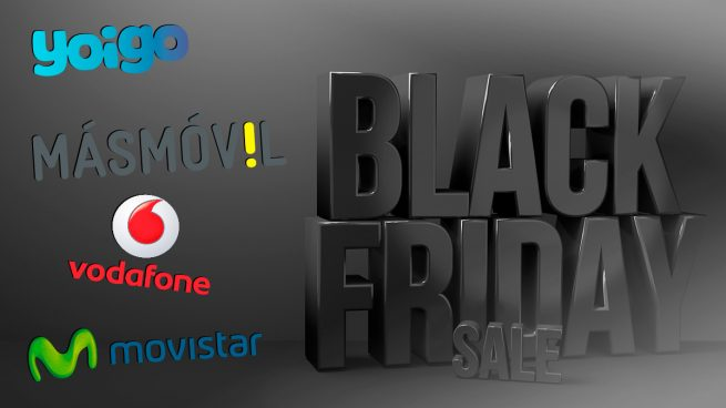 Black Friday Yoigo, MásMóvil, Vodafone, Movistar, Orange