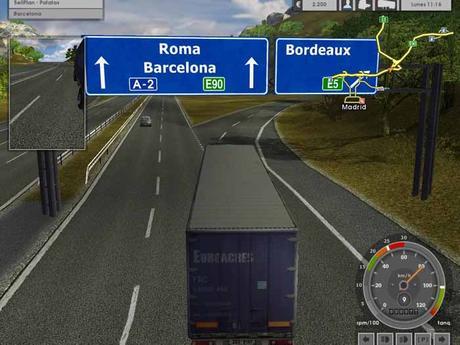Euro Truck Simulator 1 Gameplay PC