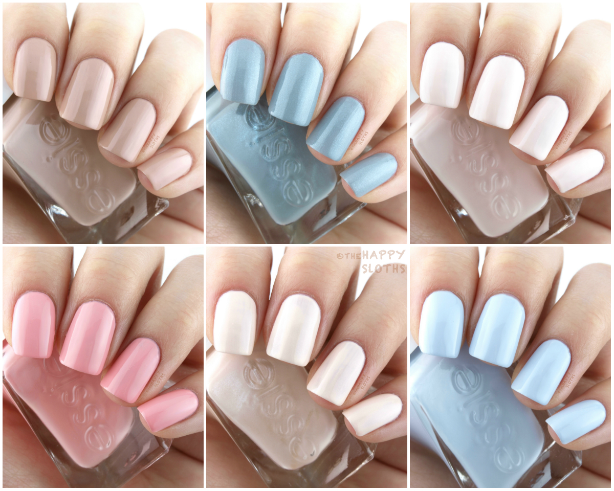 Essie Gel Couture Spring 2017 Ballet Nudes Collection: Review and Swatches