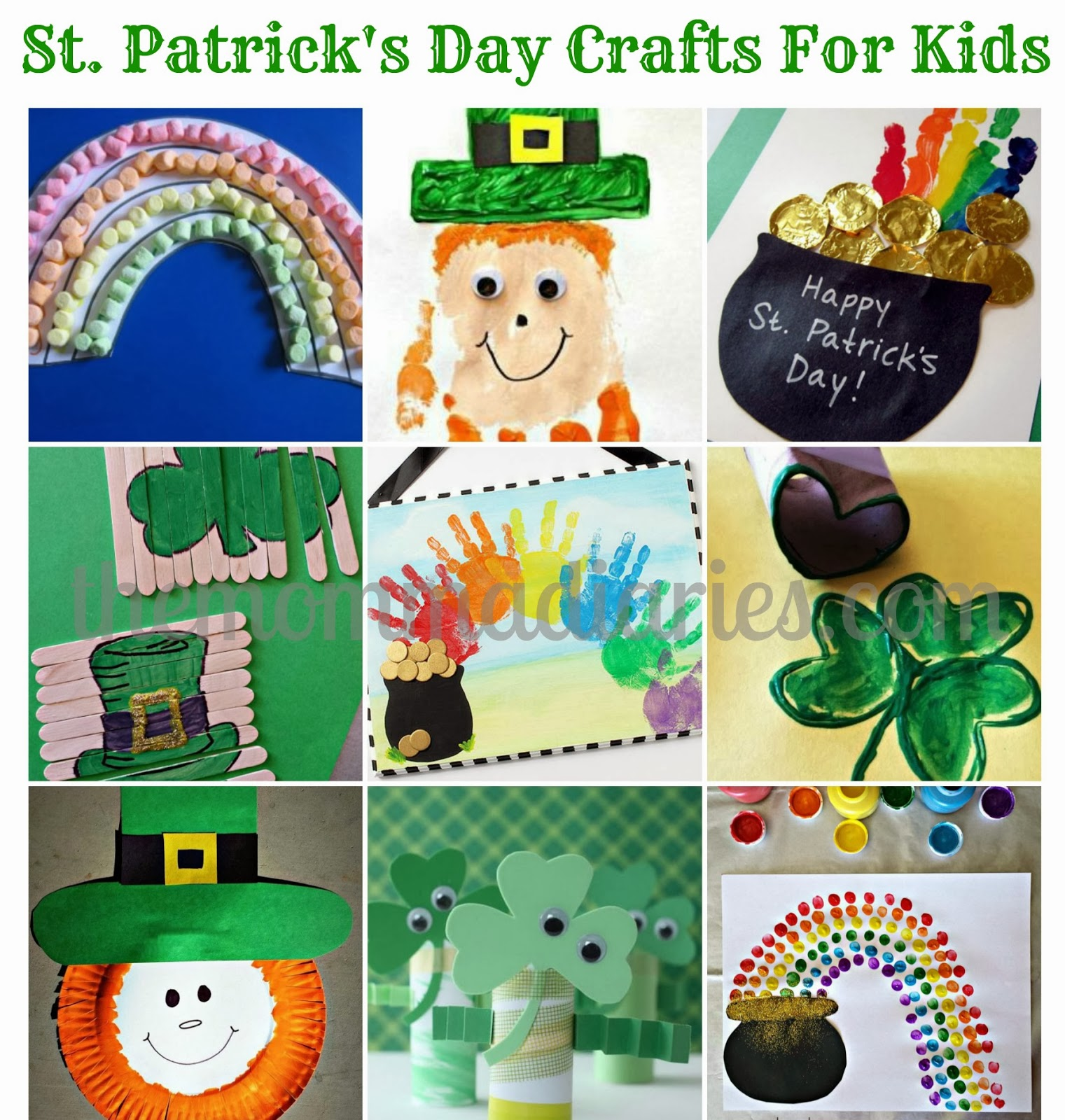 St. Patrick's Day Crafts For Kids | The Momma Diaries