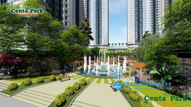 Dự án khu phức hợp thương mại-căn hộ Centa Park