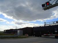 Trenes de carga en Bryant