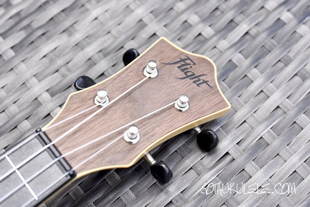 Flight Travel Ukulele headstock