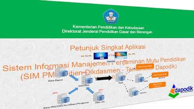 Panduan Penjamin Mutu Pendidikan (PMP) Terintegrasi Dapodik