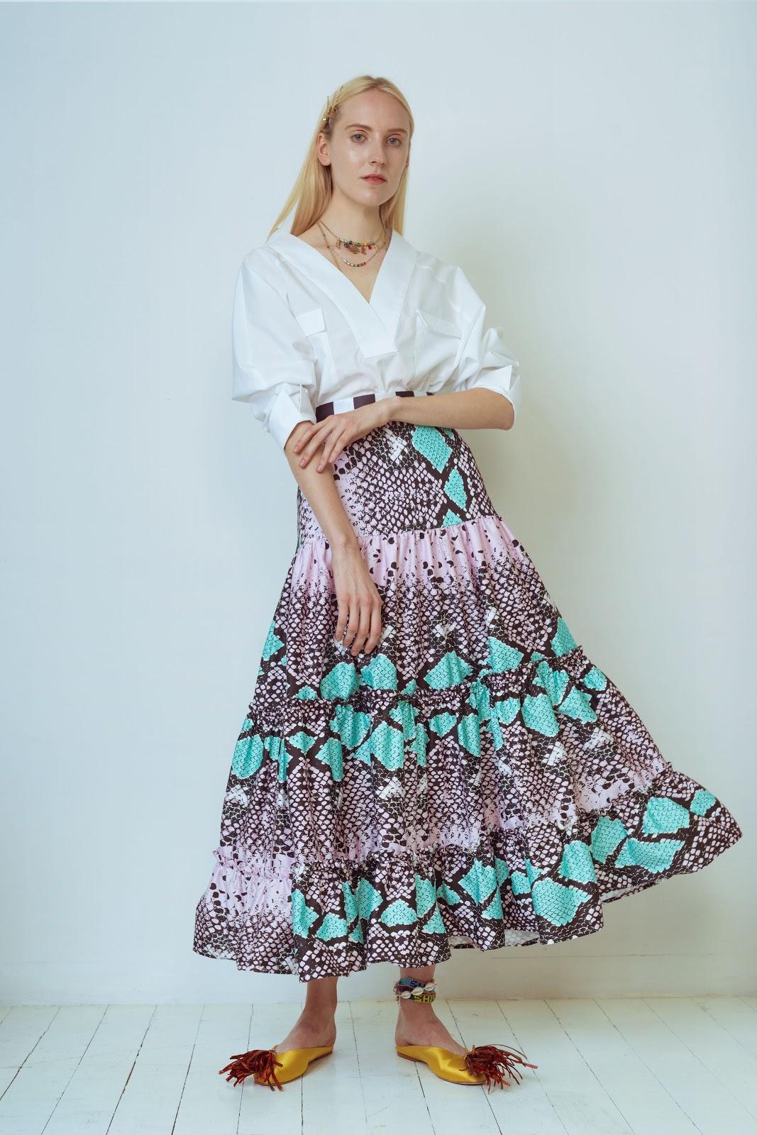 00019 Stella Jean Resort 2019 Vogue 2019 pr - Stella Jean Resort 2019 Trend Present Assortment - Runway