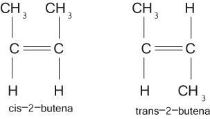 isomer geometri butena