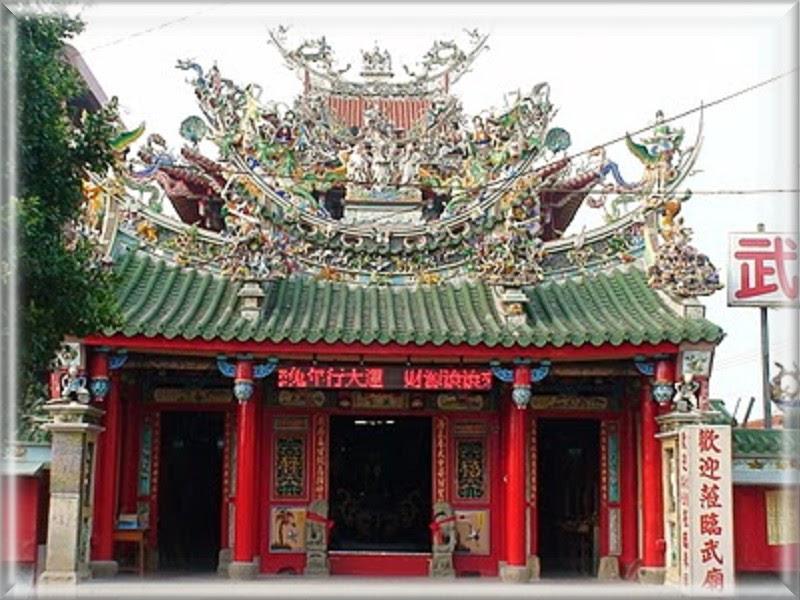 大臺南溪北之美與旅遊導覽: 鹽水之美-武廟