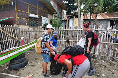 Cebu Content Creators Larawan Beach Clean Up April 2018