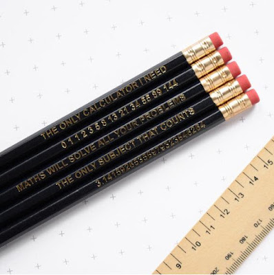 Math Pencil Set
