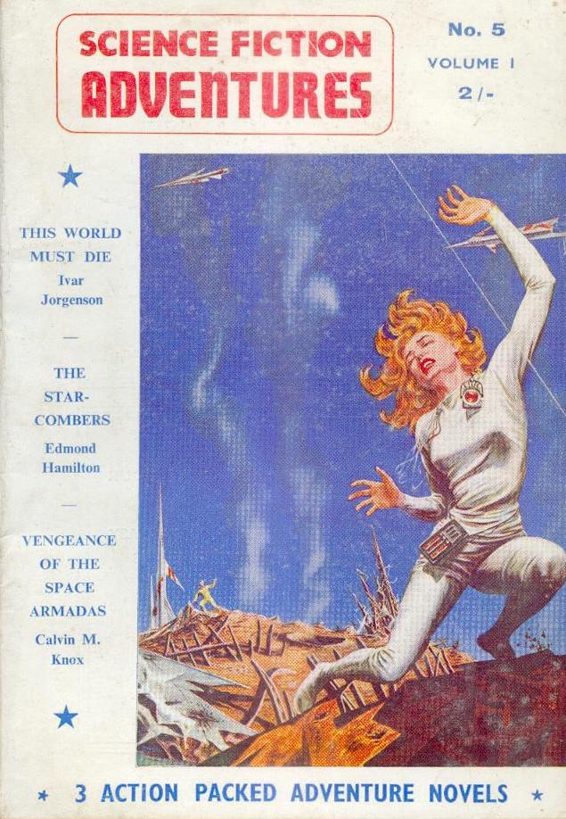 MPorcius Fiction Log: 1956 Adventures from Edmond Hamilton