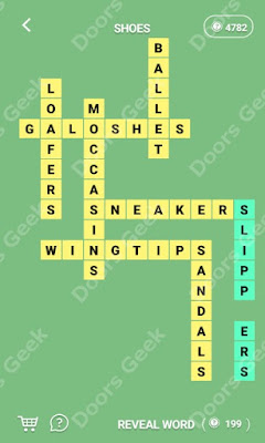 Cheats, Solutions for Level 204 in Wordcross by Apprope