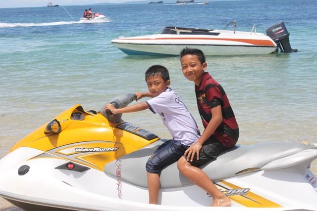 Jet ski di tanjung Benoa