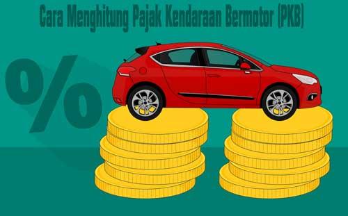 cara menghitung pajak kendaraan bermotor pkb