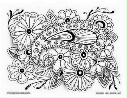 Ne el g nler mandala nedir nas l yap l r mandalan n for Super hard abstract coloring pages for adults