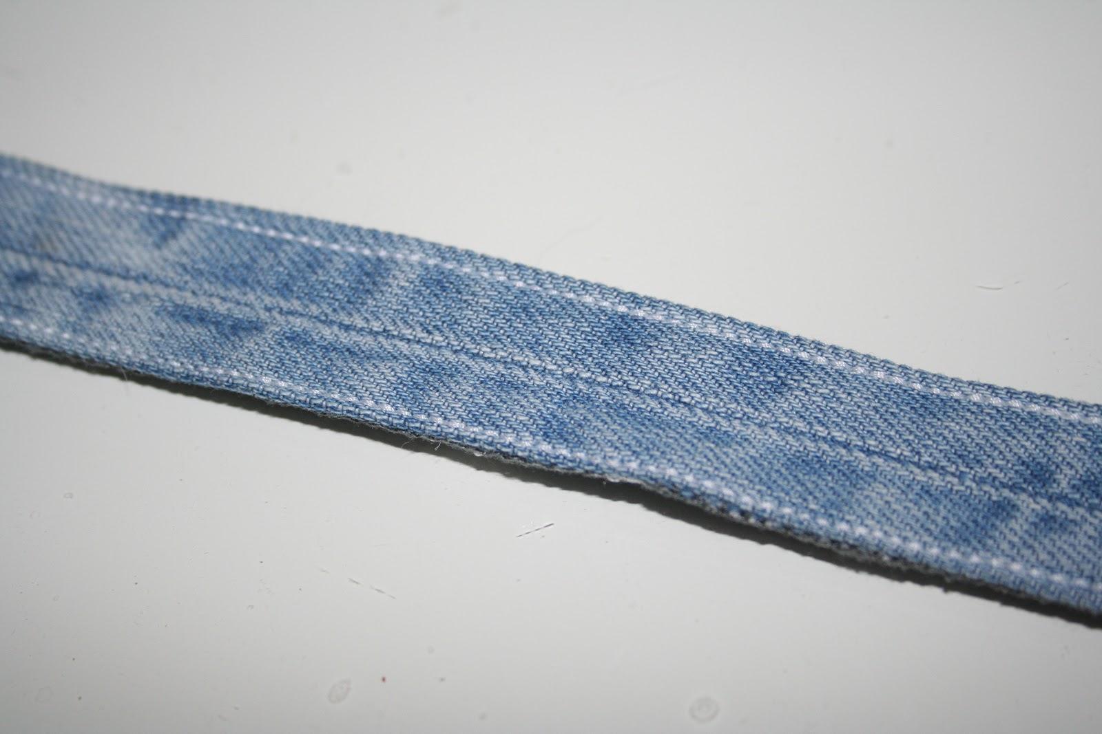 Nähkompass: Jeans-Hundehalstuch Nähanleitung