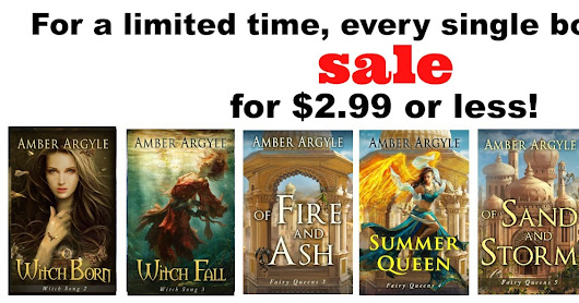 {Mega Sale} Every One of my Books on Sale for $2.99 or less