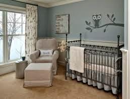 dormitorio bebé celeste gris