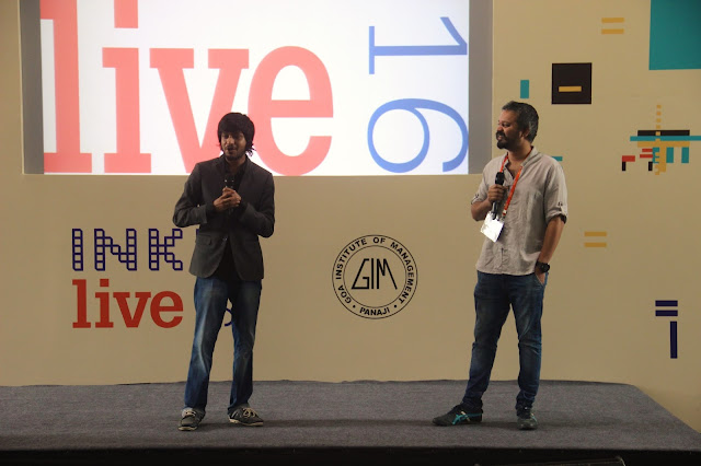 Varun Agarwal and Nikhil Velpanur coducted the sessions at Goa Institute of Management as a part of INK Live 2016
