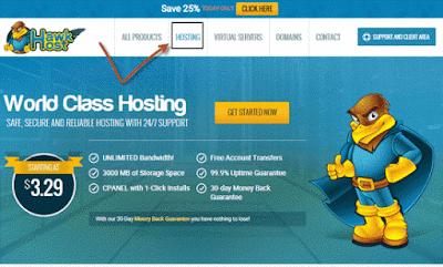 Hosting merupakan syarat utama membangun sebuah website Tutorial  Membeli / Menyewa Hosting Murah Dan Terbaik Di Hawkhost