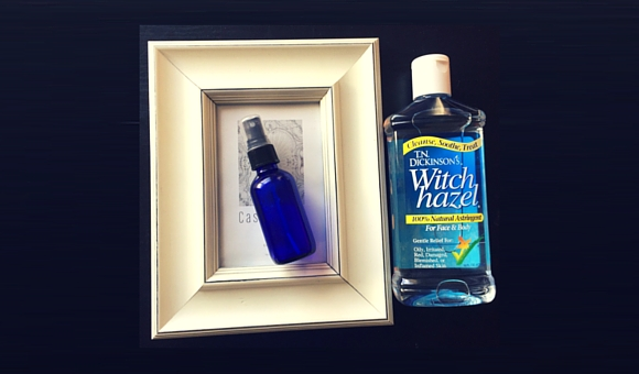 DIY Spray Deodorant with Witch Hazel
