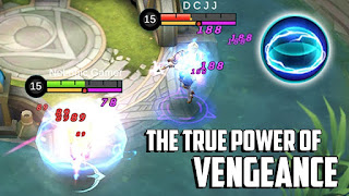 Auto Mampus! Vengeance Battle Spell Super Imba Khusus Tank Mobile Legends