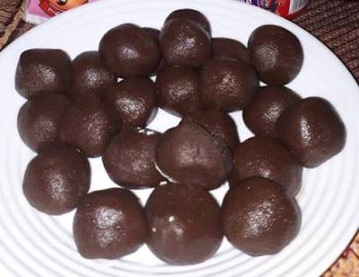 حلوة الجلجلان بالشوكولا روعة