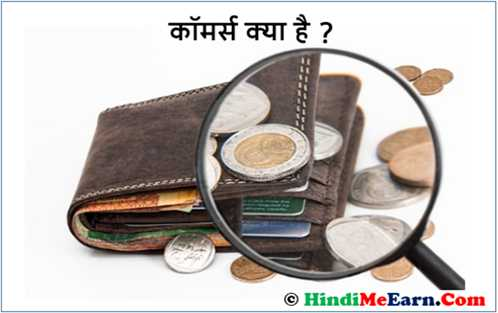 what is commerce in Hindi