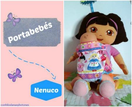 Conhiloslanasybotones - portabebés Nenuco