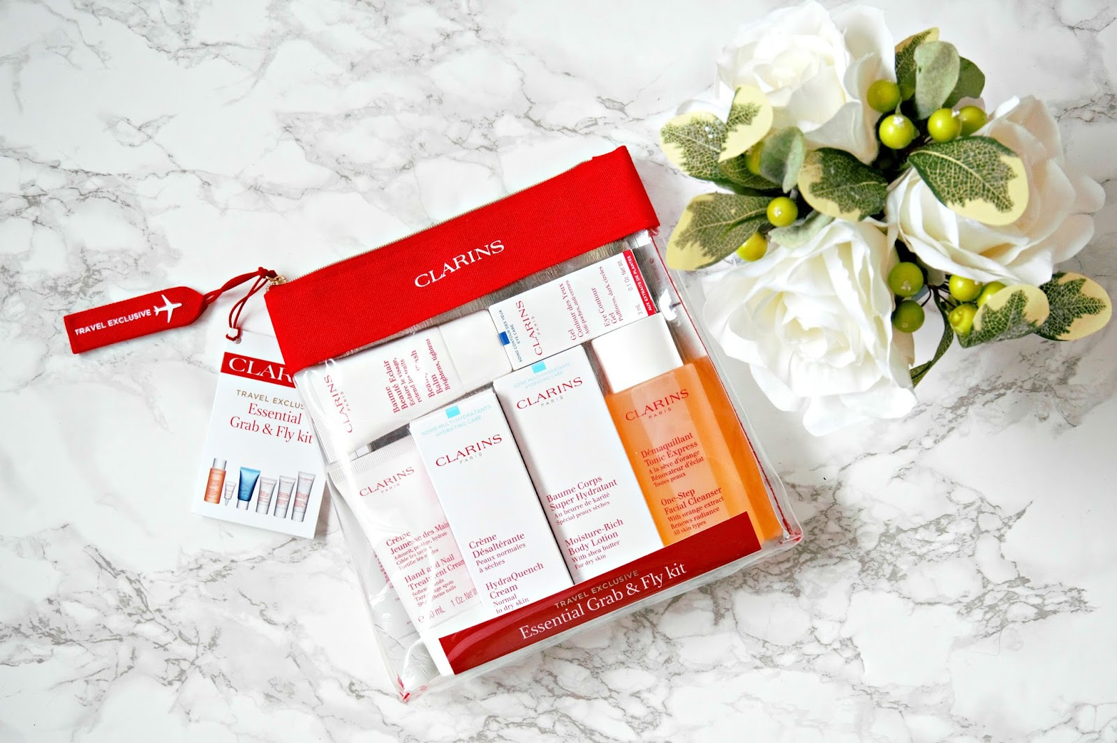 Clarins Essential Grab & Fly Kit