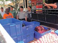 Jual Daging Sapi Gelonggongan, Perangkat Desa di Magetan Dibekuk