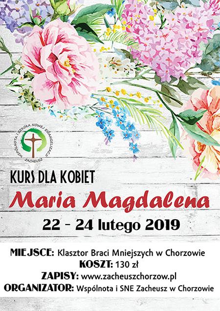 Kurs Maria Magdalena dla kobiet